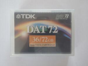 TDK-DAT72-DAT-72-Data-Tape-cartouche-36-72GB-DC4-170S-4-mm-nouveau