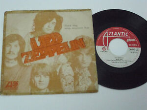 LED-ZEPPELIN-Black-Dog-PORTUGAL-7-034-single-UNIQUE-SLEEVE-alvorada-RARE