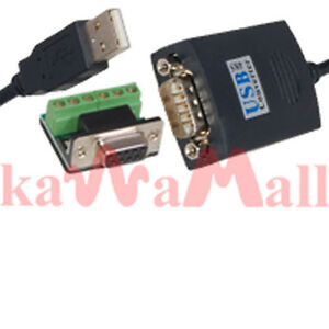 Usb to rs 485 rs 422 rs422 converter adapter cable ebay image is loading usb to rs 485 rs 422 rs422 converter sciox Gallery