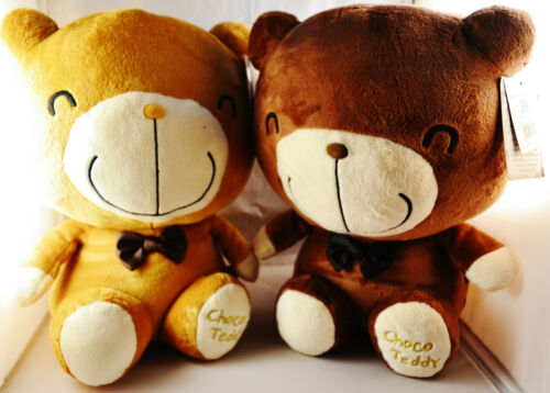"ChocoTeddy 12/"" 30 cm Dark Brown and Light Brown Teddy Bear,Stuffed Toy Valentine"