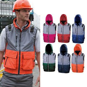 Resultado-de-trabajo-Guard-X-Over-Micropolar-Forrado-Chaleco-R335X-PPE-Acolchado-Chaleco