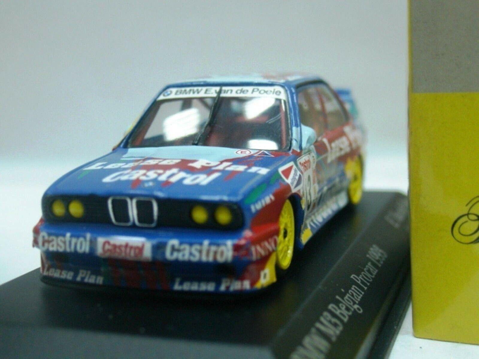 WOW EXTREMELY RARE BMW M3 E30 SE Zolder 1993 13 Poele Procar 1 43 Minichamps-DTM