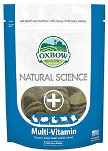 Oxbow - Naturel Science Multi-vitamines - Supplément 60 Comprimés (120 G) Vente D'éTé SpéCiale