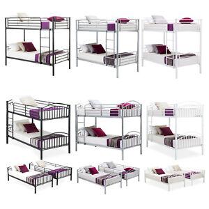 Twin-over-Twin-Metal-Bunk-Beds-Frame-Ladder-for-Kids-Adult-Children-Bedroom-Dorm