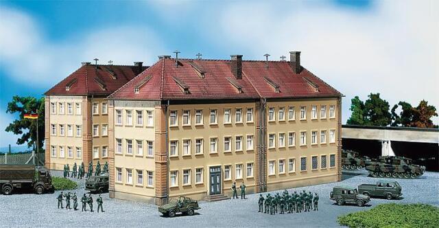 Faller 144041, Military, Mannschaftsgebäude, neu, OVP, Bundeswehr