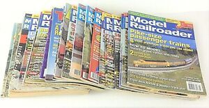 Lot-of-27-Vintage-Magazines-on-Trains-Model-Railroader-Railroad-Model-Trains