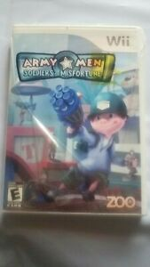 ARMY-MEN-SOLDIERS-OF-MISFORTUNE-NINTENDO-Wii-Brand-New-Sealed-Plz-Read