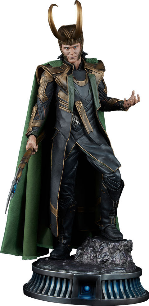 THE AVENGERS - Loki 23.25  Premium Format Statue (Sideshow Collectibles)  NEW