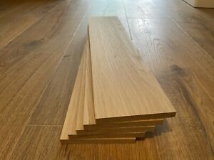 Oak Timber Offcuts 5 Pieces @ 395mm x 95mm x 10mm (European Oak)