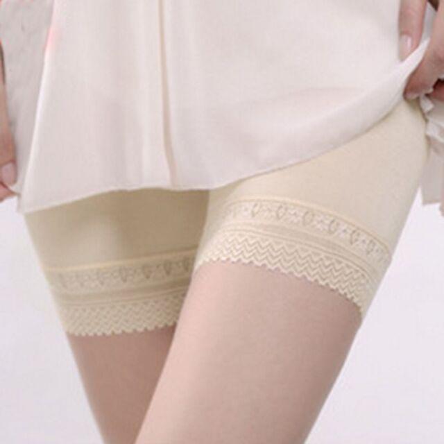 Hot Women Lady Girl Lace Underwear Leggings Shorts Safety Trousers Pants Fashion