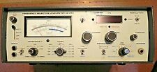 Cushman Frequency Selective Level Meter Model Ce 24a