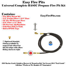 CK:UNIVERSAL PROPANE BASIC FIRE PIT KIT