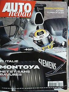 Auto Hebdo 1511 / 7 Sept 05 : Gp F1 Italie Nurbrgring P. Henry Fia Monza