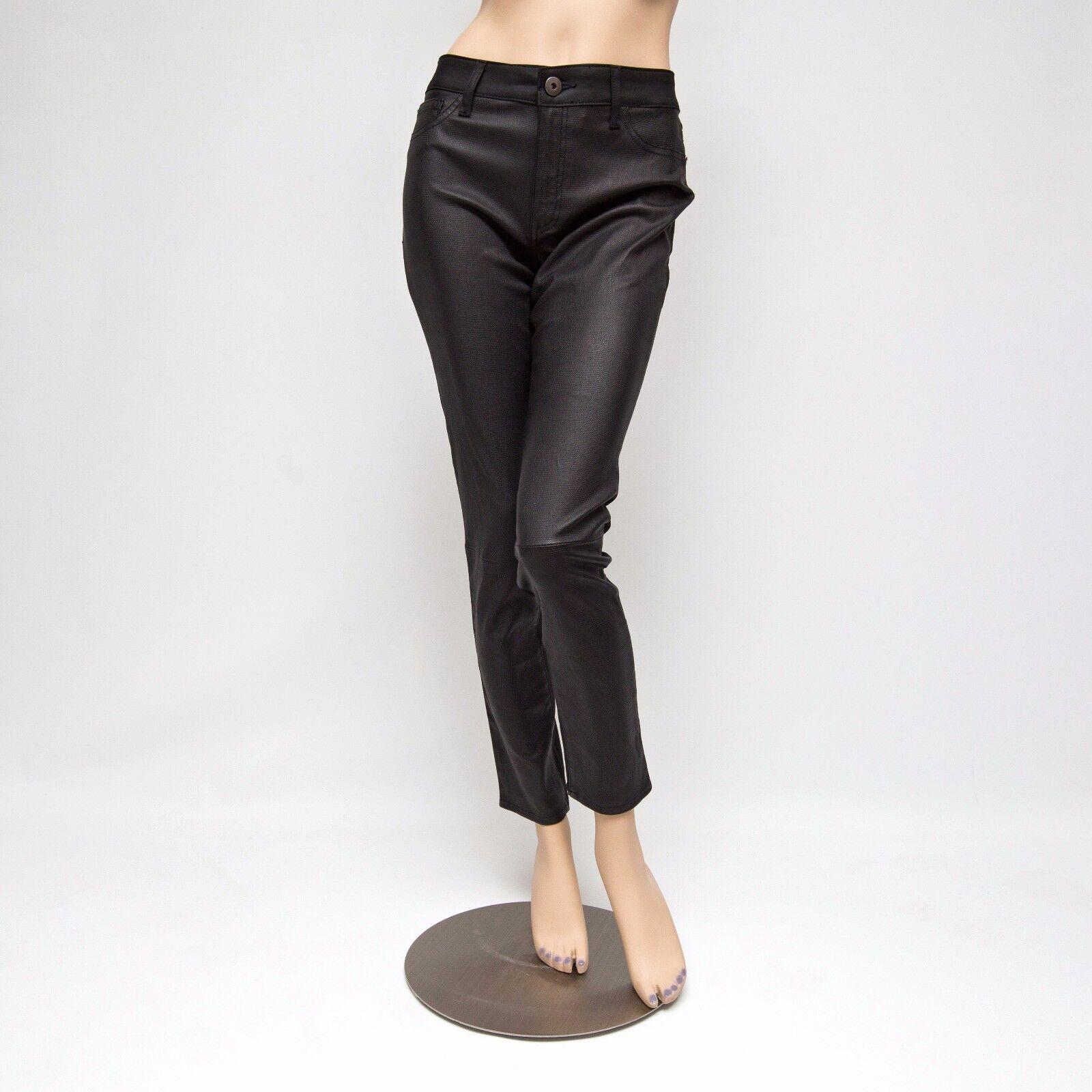 DL1961 DL Pro360 Florence Instasculpt Skylark Lamb Leather Panel Pants 31x29.5