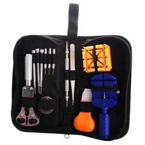 13Pcs-Outil-kit-Reparation-Entretien-Gousset-Cle-Ouvre-Boitier-Montre-Horlo-E2Z8