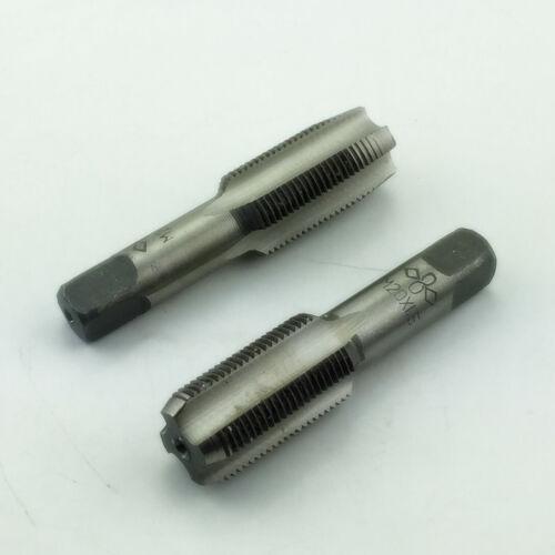 HSS 20mmx1.5 Metric Taper /& Plug Tap Right Hand Thread M20x1.5mm Pitch US Stock