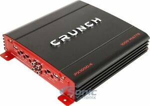 Crunch-PX1000-4-1000W-4-Channel-POWERX-Series-Class-AB-Car-Amplifier