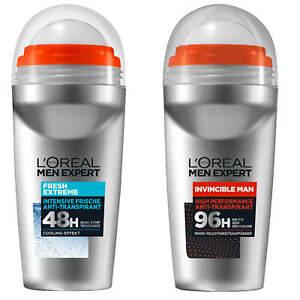 50ml-LOREAL-Men-Expert-Deoroller-48-96h-Anti-Transpirant-NON-STOP-invincible