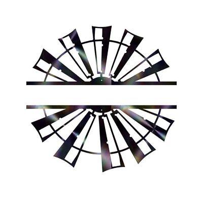 DXF CNC dxf for Plasma Laser router  vector Split Monogram Series Cut Ready