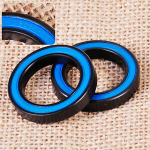 2PCS 25X37X6MM 6805N 2RS DEEP GROOVE RUBBER SHIELDED SEALED BICYCLE BALL BEARING