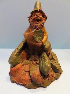 Vintage Tom Clark Gnome CRIS.P Edition #63 1985 Retired Crispy Pickle