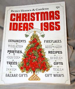 Better Home And Gardens Christmas Ideas Vintage 1965 better homes gardens magazine december christmas image is loading vintage 1965 better homes amp gardens magazine december workwithnaturefo