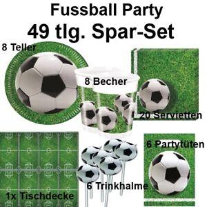 Geburtstag party fussball