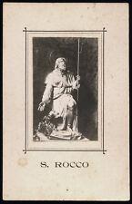 santino fotografico fine '800- S.ROCCO