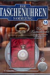 Ausgabe-14-Hachette-Taschenuhr-Kartuschenuhr-ungebraucht