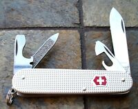 Victorinox CADET Silver Alox Original Swiss Army Knife 53042 NEW! Authentic