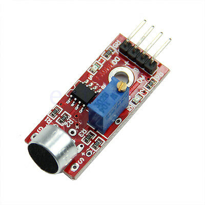 High Sensitivity Sound Microphone Sensor Detection For Arduino AVR PIC Module