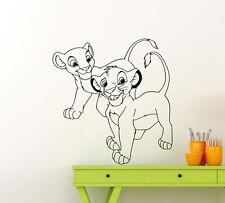 Lion King Wall Decal Simba Nala Baby Nursery Vinyl Sticker Disney Art Decor 44ct