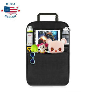 Car Seat Back Protector Cover for Children Baby Kick Mat Protect Storage Bag USA