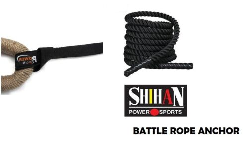Portable Battle Rope Strap Anchor Gym Fitness Exercise HOME GYM anywhere attach