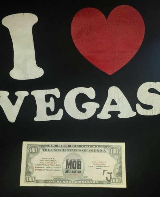 Genuine Mob Money Souvenir Las Vegas Nevada  gift idea FREE SHIPPING CAN USA