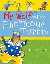 Mr Wolf and the Enormous Turnip (Mr Wolf series), Fearnley, Jan, New Book