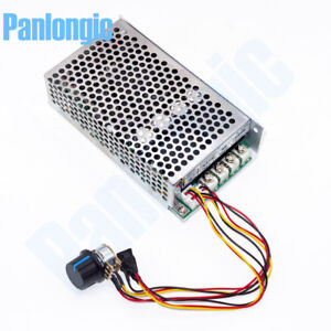 10-50V 100A 5000W Reversible DC Motor Speed Controller PWM Control Soft Start