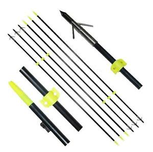 6pcs-Jagd-Angeln-Pfeile-Bowfishing-Bogenschiessen-Slingbow-Shooting-Fish-Safe-Slide