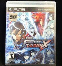 Dengeki Bunko: Fighting Climax w/BONUS MUSIC CD! (Sony PlayStation 3, 2015) NEW