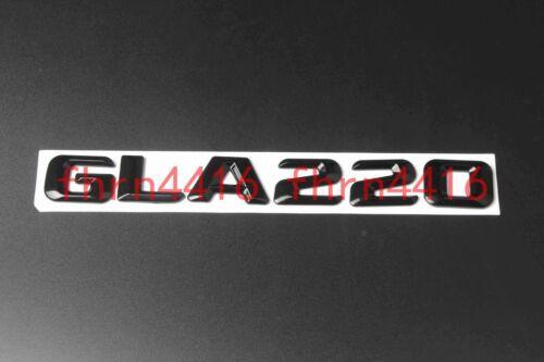 Gloss Black GLA220 Letters Trunk Emblem Badge Sticker for Mercedes Benz GLA220