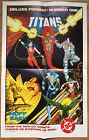 New Teen Titans DC Comics Promo Poster 1984 George Perez