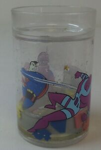 1996-SUPERMAN-glitter-cup-animated-tv-show-4-5-inches-high