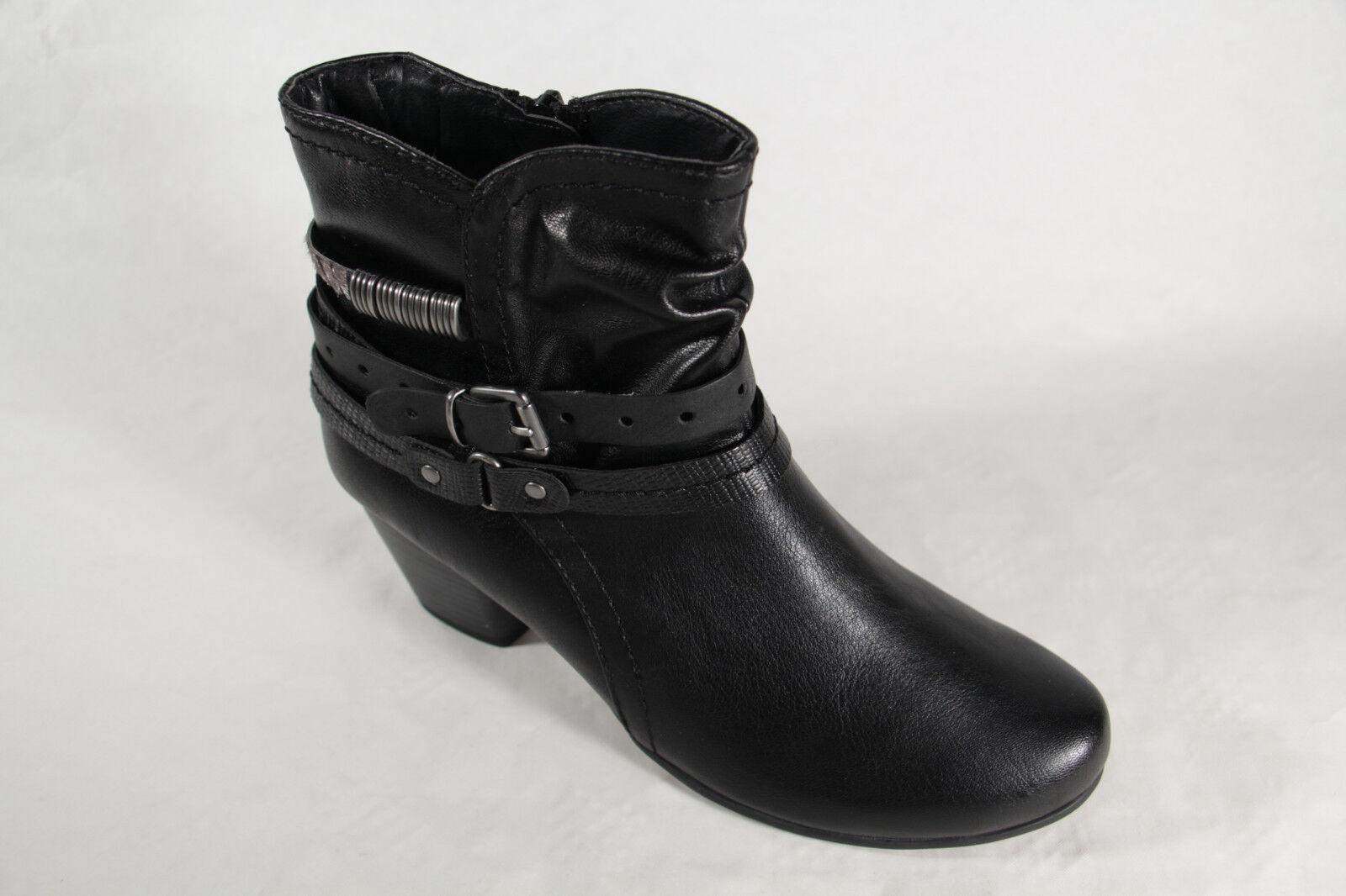 Botas Botín es Boots 843b36 Negro Jana Anabeltarot Nuevo 25360 Tw7Pqnav
