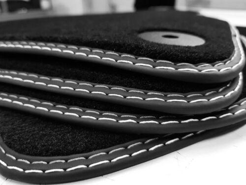 Alfombras coche para audi a1 8x año 2010 tapices calidad original nuevo gamuza