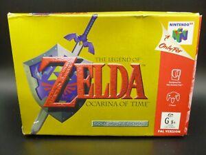 N64 Leyenda de Zelda: la Ocarina del Tiempo Collectors Edition AUS Pal En Caja
