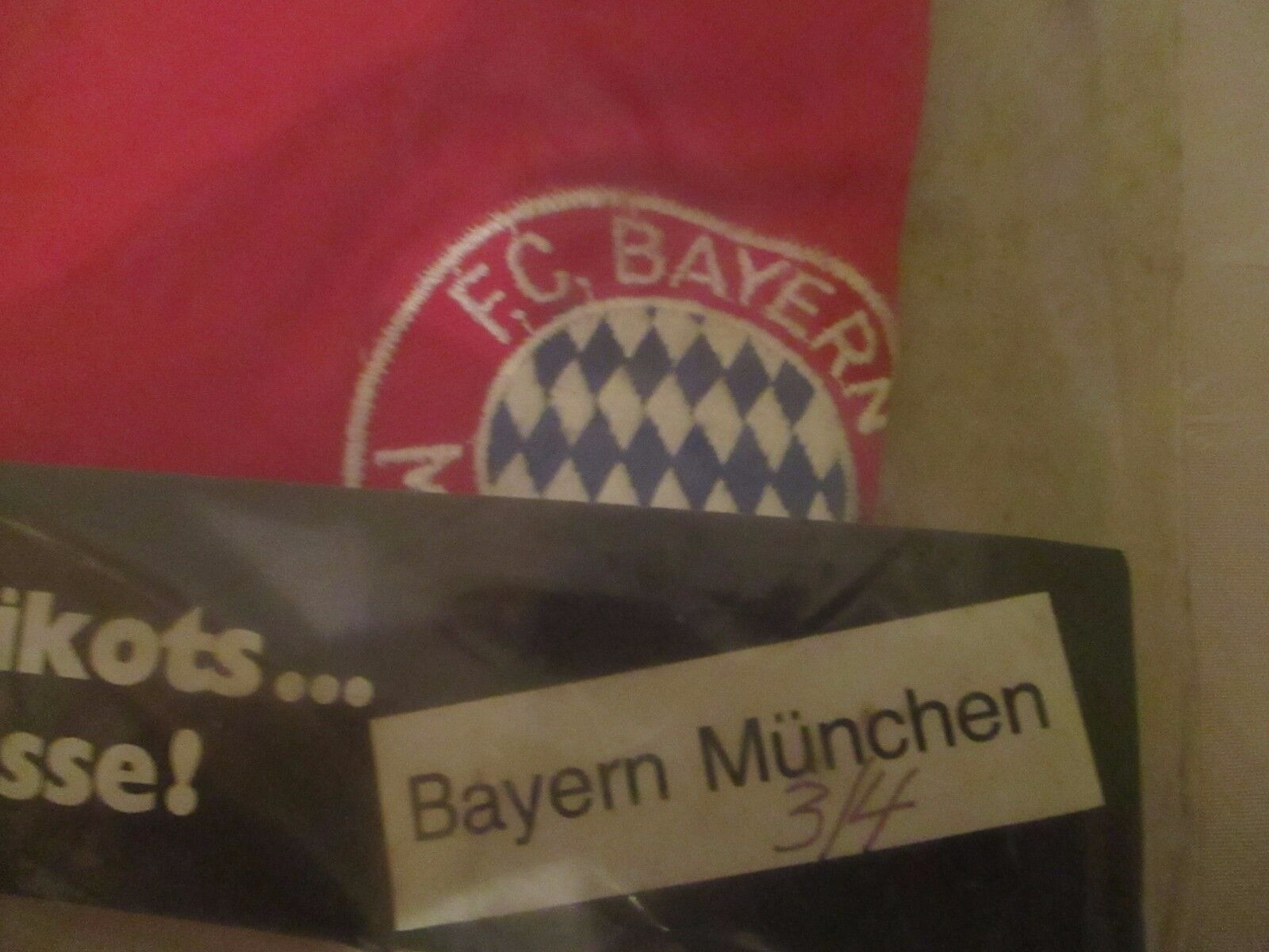 FC Bayern München Original erima Langarm Trikot 1976 77    ohne Sponsor  Gr.S Neu  | Abrechnungspreis  db283c