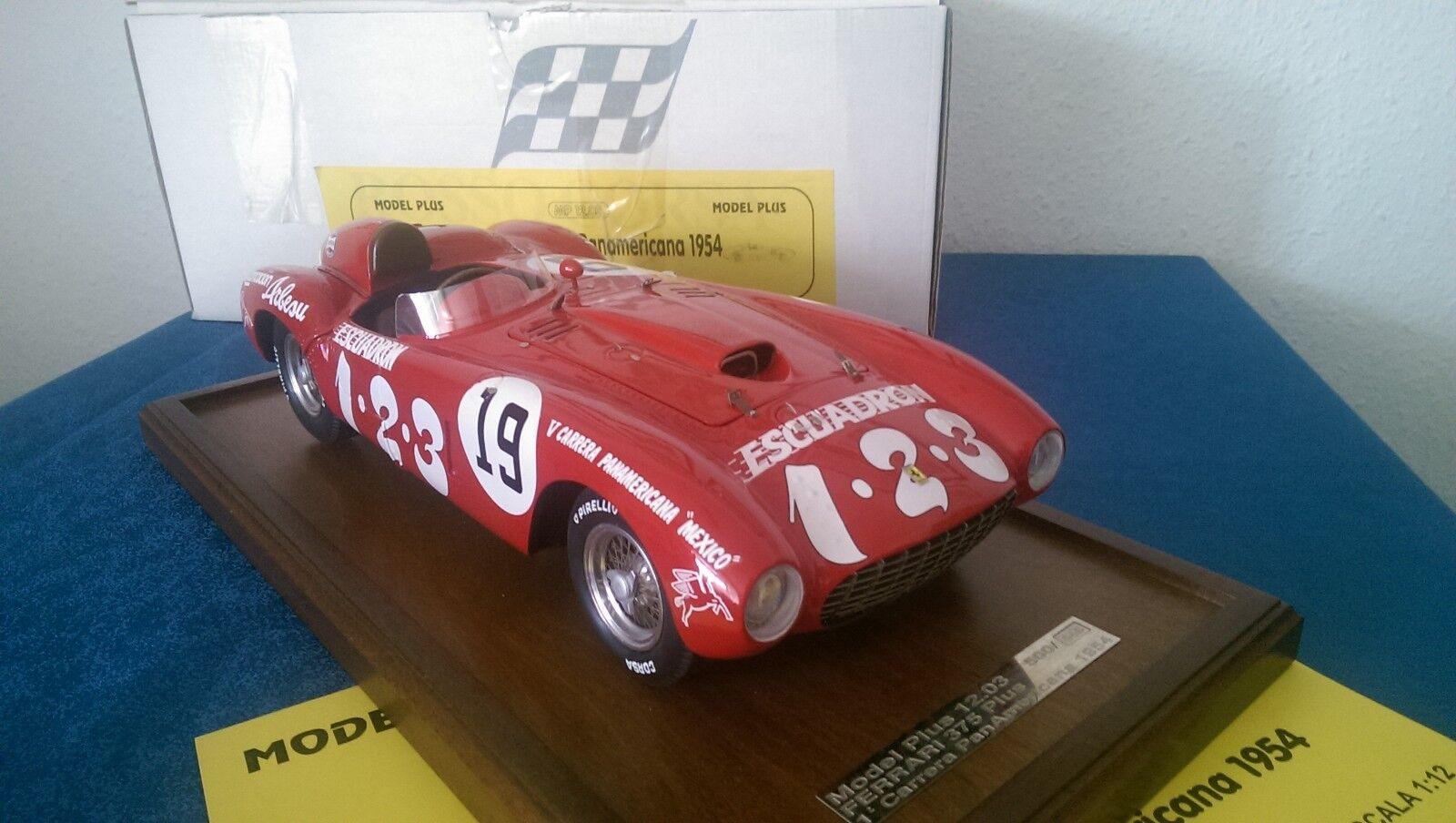 MG MODEL Plus FERRARI 375 PLUS Panamericana 1954  19 WINNER 1 12 OVP