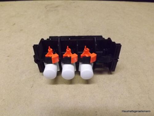 AEG Drucktastenschalter 3er Schalterblock Dreefs 4-DFW//14 645.327 871 645327871