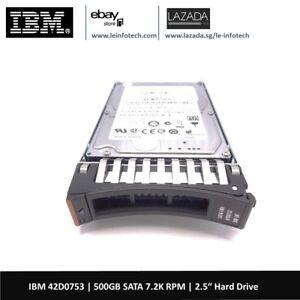 IBM-42D0753-500GB-7-2K-2-5-034-SATA-Hard-Drive-42D0752-42D0756-System-X3650-M2-M4