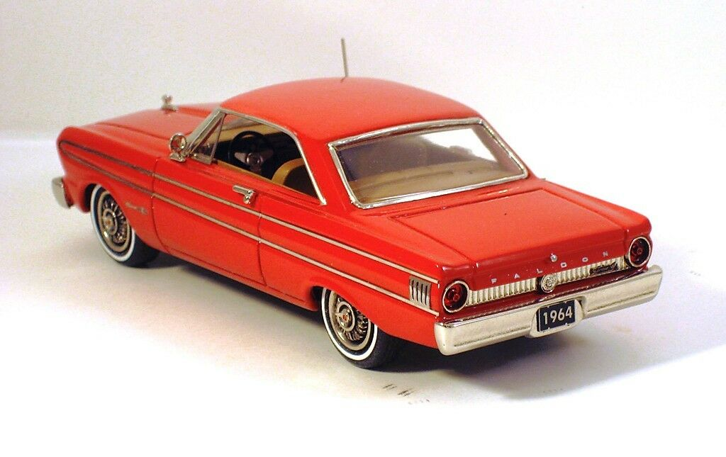 HIGHWAY TRAVELERS 1964 FORD FALCON FUTURA SPRINT HT RED HWT 112